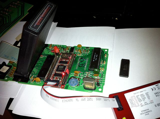 6502 - simulating in real time on an FPGA - VisualChips